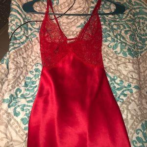 Victoria's Secret sexy silk lingerie